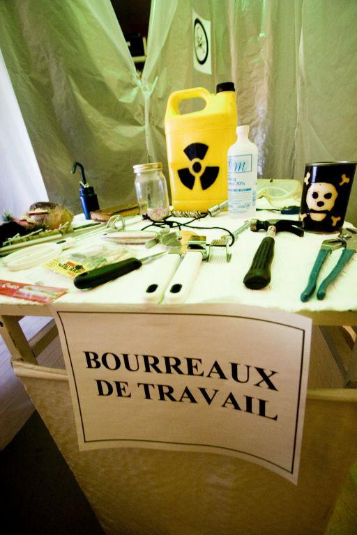 Projet de médiation culturelle pour l'inauguration de la suite culturelle de la CDC de Rosemont fait par la compagnie de théâtre de rue Toxique Trottoir