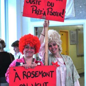 Toxique Trottoir a mis a profit ses compétences en organisation d'événement pour créer le Forum social de Rosemont mandaté par la Corporation de développement communautaire de Rosemont-La Petite-Patrie